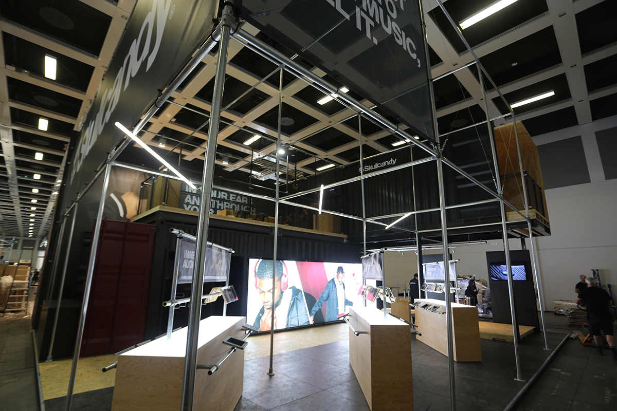 shipping container exhibition stands