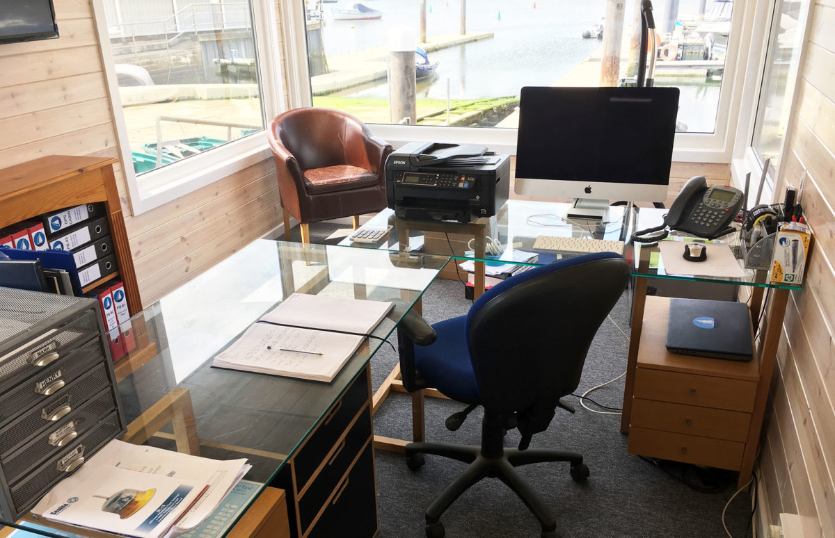 Office conversion inside