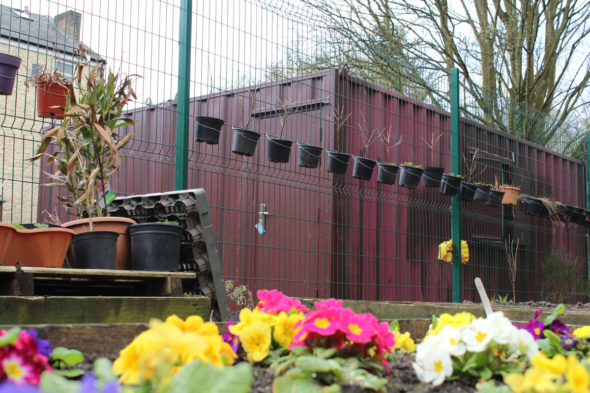 container conversion community centre