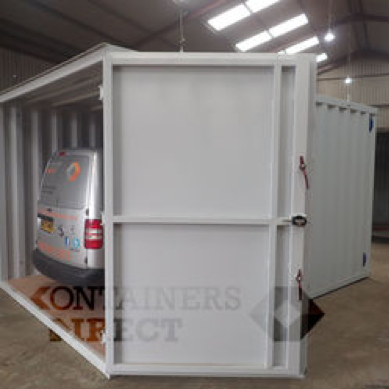 10ft wide shipping container garage CarTainer