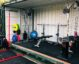 gym in shipping container
